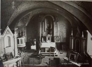 Altarul bisericii romano-catolice din Boian - 1916-17