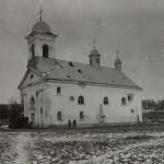 Biserica ortodoxa din Boian bombardata