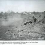 Boianul-in-timpul-luptelor. In spate se vede biserica-1916