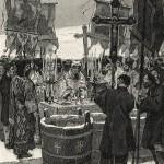 Botezul apelor la Iordan (Bobotează).
