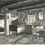 Interior de casă țărănească.