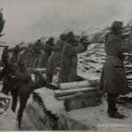 Rarancea - soldatii austrieci in timpul luptei
