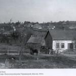Vedere a Boianului (se vede biserica Nasterea Macii Domnului) 1916