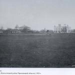 Vedere-la-centrul-Boianului dupa lupta (se vede judecatoria-hotelul de azi- 1916
